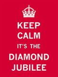 Keep Calm Diamond Jubilee II Posters