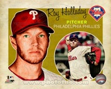 Roy Halladay 2012 Studio Plus Photo