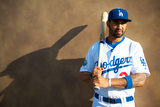 Glendale, AZ - March 2: Los Angeles Dodgers Photo Day - Mark Ellis Photographic Print by Rob Tringali