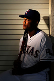 Surprise, AZ - February 28: Texas Rangers Photo Day - Adrian Beltre Photographic Print by Jamie Squire