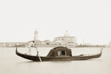 Gondola in Venice, 1907 Photographic Print by Scherl