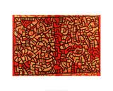 Untitled, 1979 Reproduction procédé giclée par Keith Haring