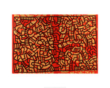 Untitled, 1979 Giclée-tryk af Keith Haring