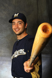 Maryvale, AZ - February 26: Milwaukee Brewers Photo Day - Ron Roenicke Photographic Print by Rich Pilling
