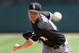 Glendale, AZ - March 29: Chicago White Sox v Los Angeles Dodgers - Mark Ellis Photographie par Christian Petersen
