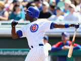 Mesa, AZ - February 27: Chicago Cubs Photo Day - Starlin Castro Photographic Print by Jamie Squire