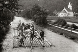 River Trip of Artists from Munich, 1912 Photographic Print by  Scherl