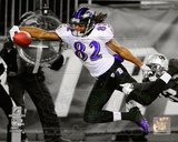 Torrey Smith Touchdown AFC Championship Game Spotlight Action Photo