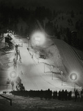 Olympic Winter Games in Garmisch-Partenkirchen, 1936 Photographic Print by Scherl