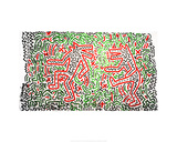 Untitled, 1981 Giclee Print by Keith Haring