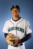 Peoria, AZ - February 21: Seattle Mariners Photo Day - Hong-Chih Kuo Photographic Print by Christian Petersen