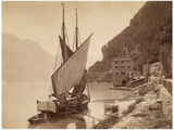 Lake Garda, around 1905 Photographic Print by  Scherl