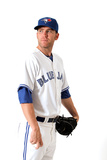 Dunedin, FL - March 02: Toronto Blue Jays Photo Day - Brett Cecil Photographic Print by Jonathan Ferrey