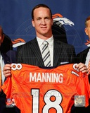 Peyton Manning 2012 Press Conference Photo