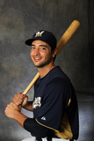 Maryvale, AZ - February 26: Milwaukee Brewers Photo Day - Ryan Braun Photographic Print by Rich Pilling