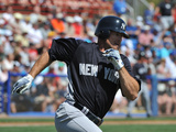 Dunedin, Fl - March 8: New York Yankees v Toronto Blue Jays - J. P. Arencibia Photographic Print by Al Messerschmidt