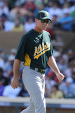 Scottsdale, AZ - March 09: Oakland Athletics v Colorado Rockies - Jemile Weeks Photographic Print by Norm Hall
