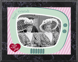 I Love Lucy - A Wonderful Pair plaque Print