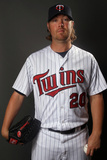 Fort Myers, FL - February 27: Minnesota Twins Photo Day - Matt Carson Photographic Print by Elsa .