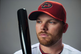 Scottsdale, AZ - March 1: Arizona Diamondbacks Photo Day - Aaron Hill Photographic Print by Rob Tringali