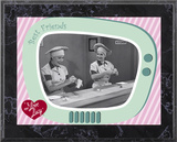 I Love Lucy - Chocolate Factory plaque Psters