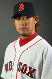 Fort Myers, FL - February 26: Boston Red Sox Photo Day - Alfredo Aceves Photographic Print by Elsa .