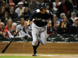Scottsdale, AZ - March 10: Mariners v Diamondbacks - Munenori Kawasaki and Takashi Saito Photographic Print by Kevork Djansezian