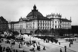 Historic Munich: Justizpalast around in Munich Photographic Print by  Scherl