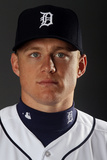 Lakeland, FL - February 28: Detroit Tigers  Photo Day - Andy Dirks Photographic Print by Elsa .