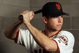 Scottsdale, AZ - March 01: San Francisco Giants Photo Day - Brian Wilson Photographic Print by Jamie Squire