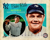 Babe Ruth 2012 Studio Plus Photo
