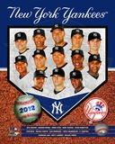 New York Yankees 2012 Team Composite Photographie