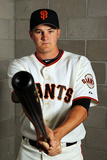 Scottsdale, AZ - March 01: San Francisco Giants Photo Day - Aubrey Huff Photographic Print by Jamie Squire