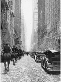 Parade for Hugo Eckner in New York, 1929 Photographic Print by  Scherl
