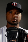 Fort Myers, FL - February 27: Minnesota Twins Photo Day - Danny Valencia Photographic Print by Elsa .