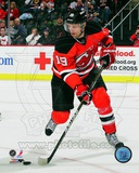 Travis Zajac 2011-12 Action Photo