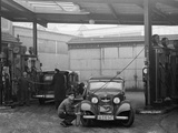 Bp Gas Station in Berlin, 1937 Photographic Print by  Scherl