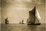 Sailing Regatta, 1930 Photographic Print by Scherl