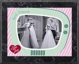 I Love Lucy - The Same Dress plaque Prints