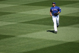 Surprise, AZ - March 09: Los Angeles Dodgers v Texas Rangers - Nelson Cruz Photographic Print by Christian Petersen