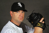 Glendale, AZ - March 03: Chicago White Sox Photo Day - Jake Peavy Photographic Print by Jamie Squire