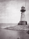 The Lighthouse of Neufahrwasser, 1900 Photographic Print by  Scherl