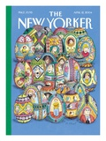 The New Yorker Cover - April 12, 2004 Regular Giclee Print by Roz Chast