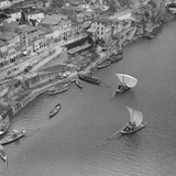 Sailboats on the Douro, 1940 Photographic Print by  Scherl