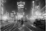 Times Square at Night, 1928 Photographic Print by  Scherl