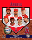 2012 Los Angeles Angels Team Composite Photo