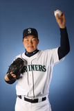 Peoria, AZ - February 21: Seattle Mariners Photo Day - Felix Hernandez Photographic Print by Christian Petersen