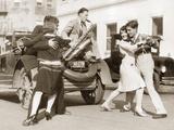 Dance Marathon in Los Angeles, 1927 Photographic Print by  Scherl