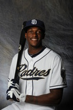 Peoria, AZ - February 27: San Diego Padres photo day - Cameron Maybin Photographic Print by Rich Pilling