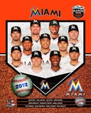 2012 Miami Marlins Team Composite Foto